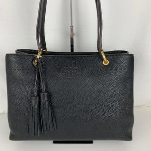 New Tory Burch McGraw Triple Compartment Ring Tote
